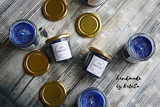 Svietidlá a sviečky - černicový kompót (120 ml) - 9307597_