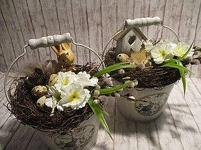 Dekorácie - Veľkonočná dekorácia - 9311029_