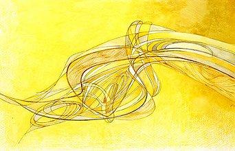 Dekorácie - Abstraktná maľba steny na objednávku - 9308309_