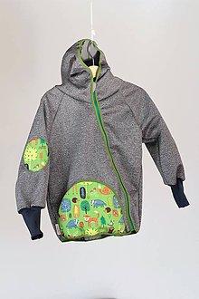 Detské oblečenie - Softshellka