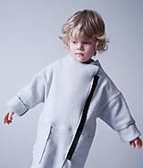 Detské oblečenie - asymetricky Kardigán - 9310745_