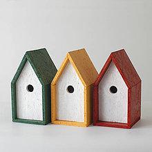 Pre zvieratká - Búdka pre vtáčiky - 9310434_