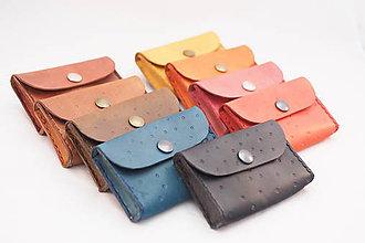 Peňaženky - Malá peňaženka na drobné - drobné kytičky - 9310023_