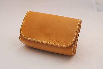 Peňaženky - Kožený obal na doklady - 9310145_