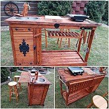 Nábytok - Zahradna kuchynka & barovy pult - 9307495_