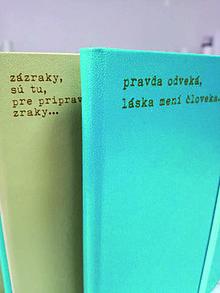 Papiernictvo - Zápisník s básničkou - 9308442_