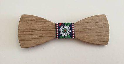 Iné doplnky - Motýlik drevený- 1 - 9309600_