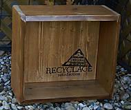 Nábytok - Polica Recycle - 9310321_