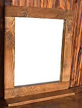 Zrkadlá - Zrkadlo s poličkou - 9310571_