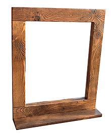 Zrkadlá - Zrkadlo s poličkou - 9310572_