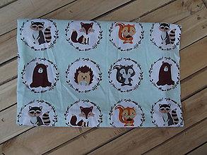 Textil - Minky deka zvieratká - 9315173_