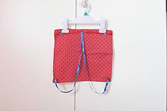 Detské tašky - Batôžtek mini-červenomodrý UP - 9312880_