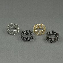 Prstene - Lekno – Myjava (pokovené) (poniklovaný) - 9315056_