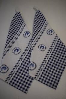 Úžitkový textil - UTĚRKY ..MODRÉ 2KS - 9313741_