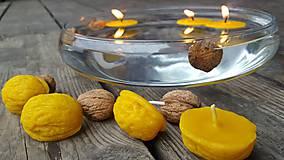 Svietidlá a sviečky - Tři oříšky pro Popelku - 9314220_