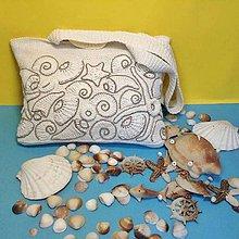 Kabelky - Kabelka s morským vzorom