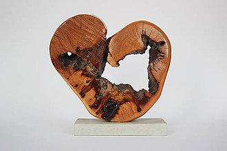 Socha - Lignum cor, srdce - 9314622_