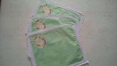 Úžitkový textil - Veľkonočné prestieranie - 9313360_