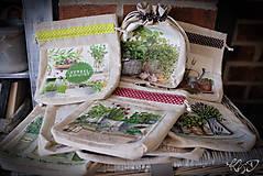 Úžitkový textil - Vrecká na bylinky - MIX - 9318585_