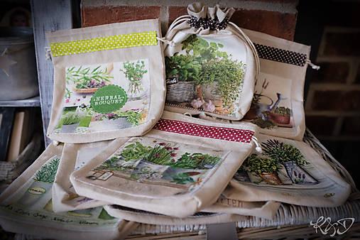 Vrecká na bylinky - MIX