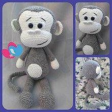 Hračky - Opička Maxo - 9317906_