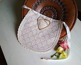 Iné doplnky - Svatební bryndák Elegant Ivory Love ONA :) - 9319240_