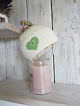 Detské čiapky - Uzlíček šťastia - 9318750_
