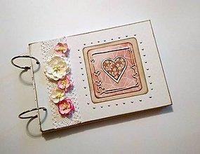 Papiernictvo - Svadobný album/ kniha hostí A5 - 9317238_
