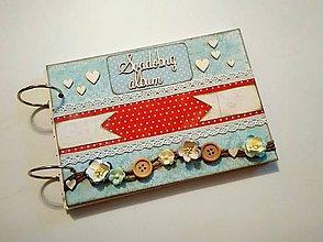Papiernictvo - Vintage svadobný album A5 - 9318015_