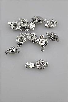 Komponenty - Luxusné zapínanie na náramky/náhrdelníky - 9319081_