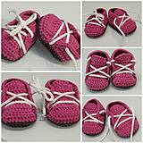 Topánočky - Tenisky newborn - 9316662_