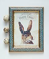 - Zajac barokový rámik - 9316302_