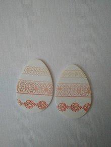Dekorácie - veľkonočné vajíčko na zavesenie (Ružová) - 9318863_