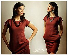 Šaty - Šaty Brownie - skladom veľkosť S - 9316432_