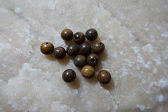 Korálky - Drevená korálka 8-M18-H1 - 9317440_