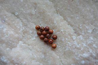 Korálky - Drevená korálka 6-M18-H2 - 9317526_