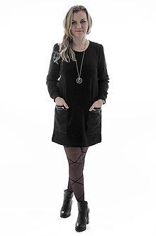Šaty - Teplákové šaty s vreckami - 9317198  ab35bdbe921