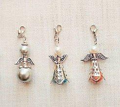 Kľúčenky - prívesok na kľúče - anjelik - 9316031_
