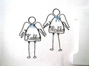 Dekorácie - osobný anjel - 9315616_