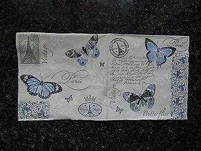 Papier - motýliky - 9316687_