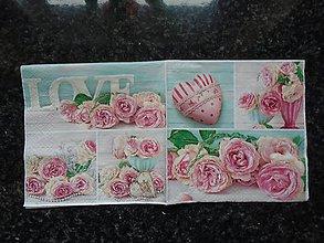 Papier - ruže - love - 9316703_