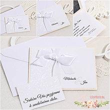 Papiernictvo - Svadobné oznámenie VI - 9322645_
