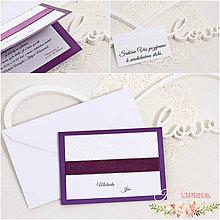 Papiernictvo - Svadobné oznámenie VIII - 9322673_