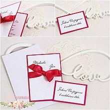 Papiernictvo - Svadobné oznámenie IX - 9322684_