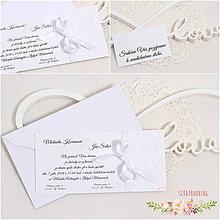 Papiernictvo - Svadobné oznámenie XI - 9322733_
