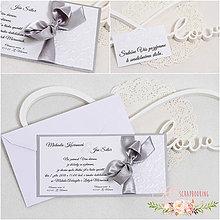 Papiernictvo - Svadobné oznámenie XII - 9322744_