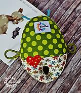 Hračky - Vesmírny chrobáčik sivý - hrkálka - 9321749_
