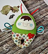 Hračky - Vesmírny chrobáčik zelený - hrkálka - 9321788_