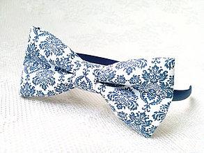 Ozdoby do vlasov - Blue orient headband - 9322677_