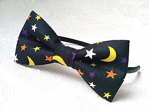 Ozdoby do vlasov - Night sky headband - 9322711_
